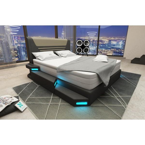 Lit Design TYSON avec éclairage LED