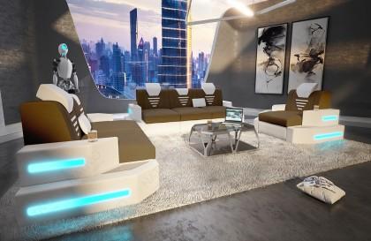 Lit Design SIERRA avec éclairage