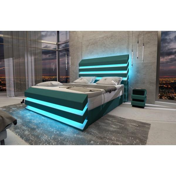 Lit Design BERN V1 avec éclairage LED et port USB