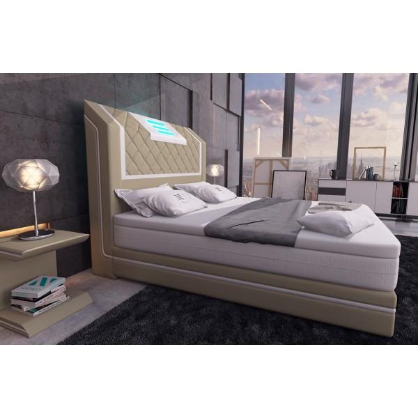 Lit Design BERN V2 avec éclairage LED et port USB