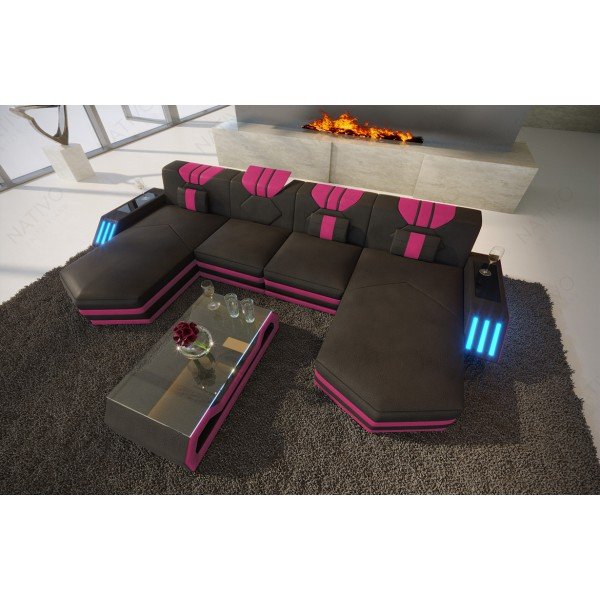 Canapé Design HERMES XL avec éclairage LED NATIVO mobilier France