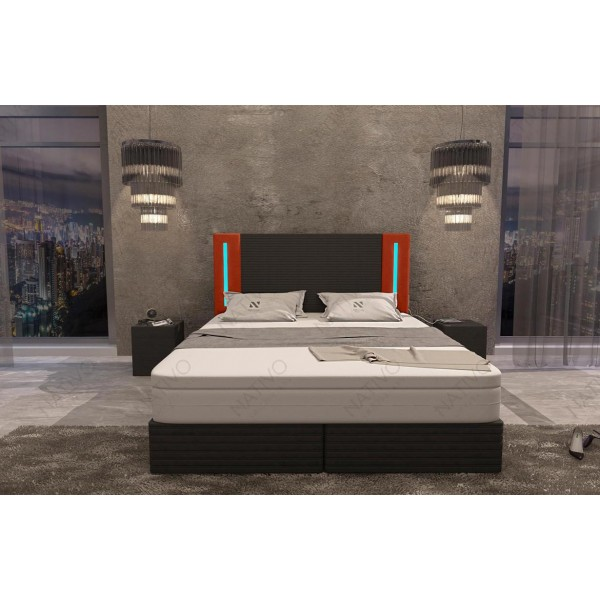 Canapé Design CESARO MINI avec éclairage LED NATIVO mobilier France