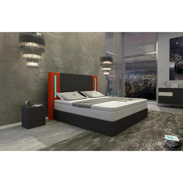 Canapé Design CESARO 3+2+1 avec éclairage LED NATIVO mobilier France