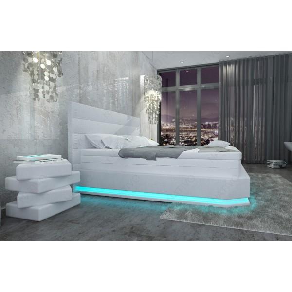 Canapé Design MYSTIQUE XL avec éclairage LED et port USB NATIVO mobilier France