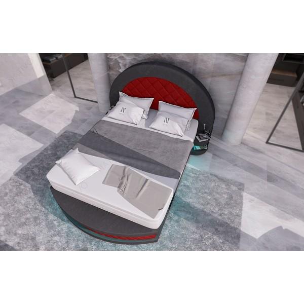 Canapé Design MYSTIQUE MINI avec éclairage LED et port USB NATIVO mobilier France