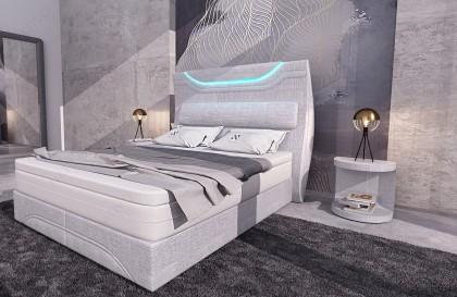 Canapé Design ROYAL 3+2+1 avec éclairage LED et port USB