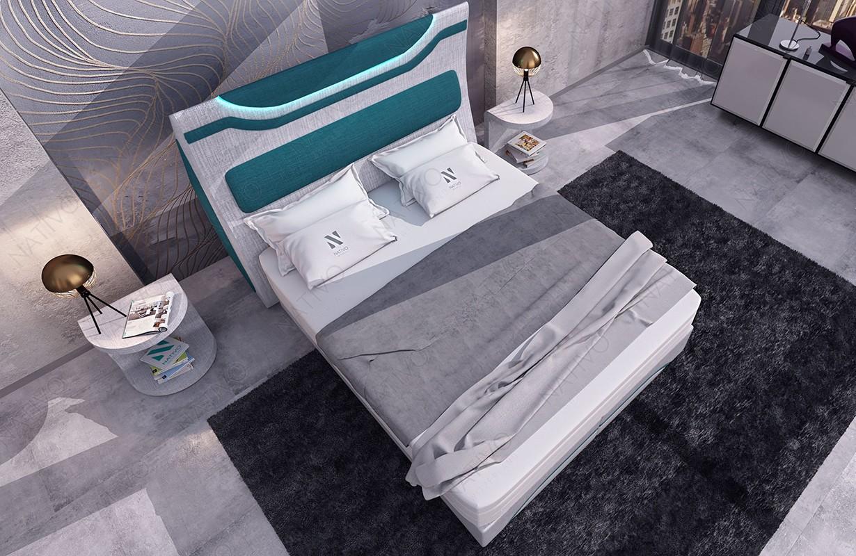 canap design clermont xl u avec clairage led nativo mobilier france - Canape U