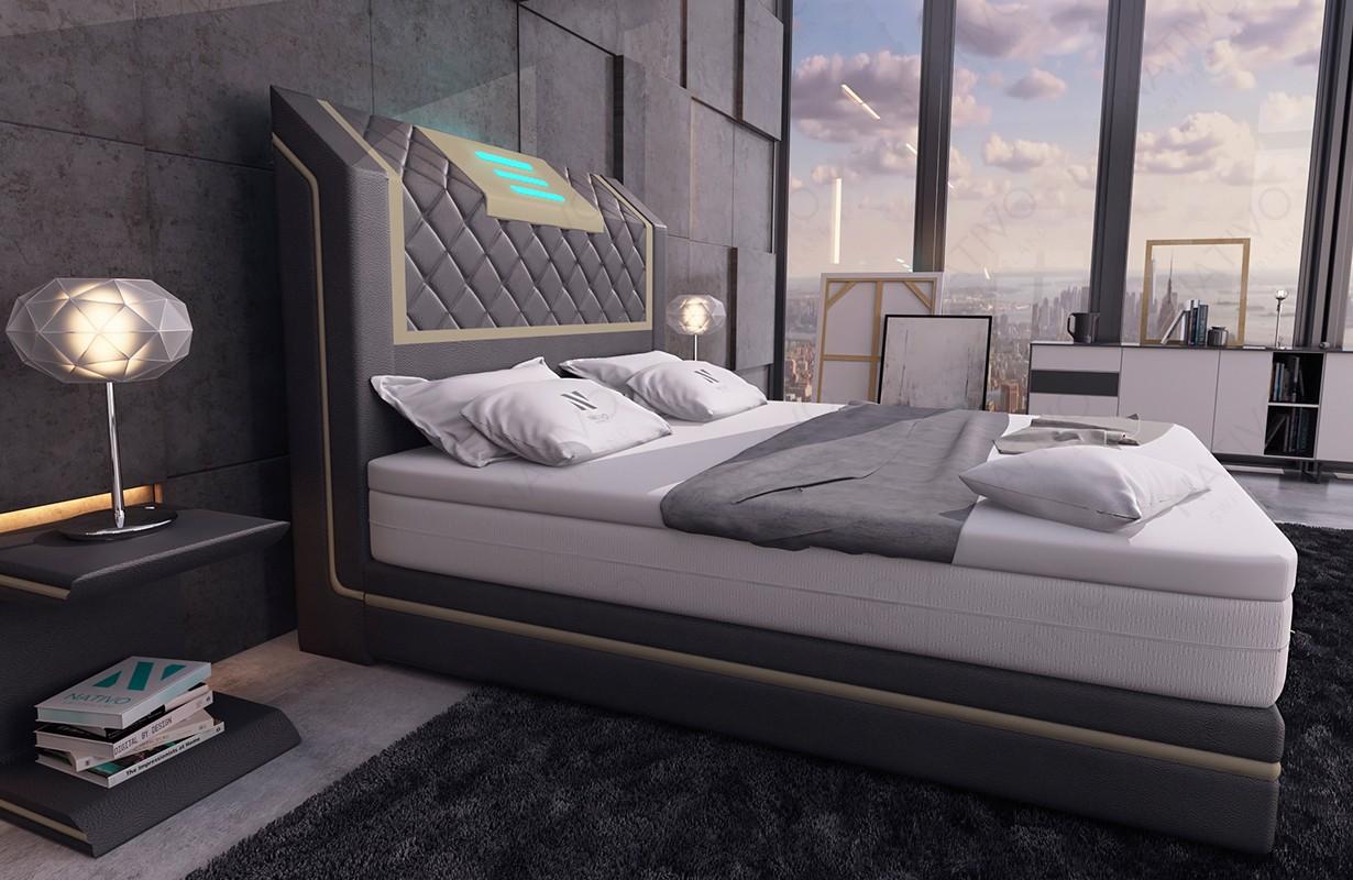Canapé Design CESARO XL avec éclairage LED NATIVO mobilier France