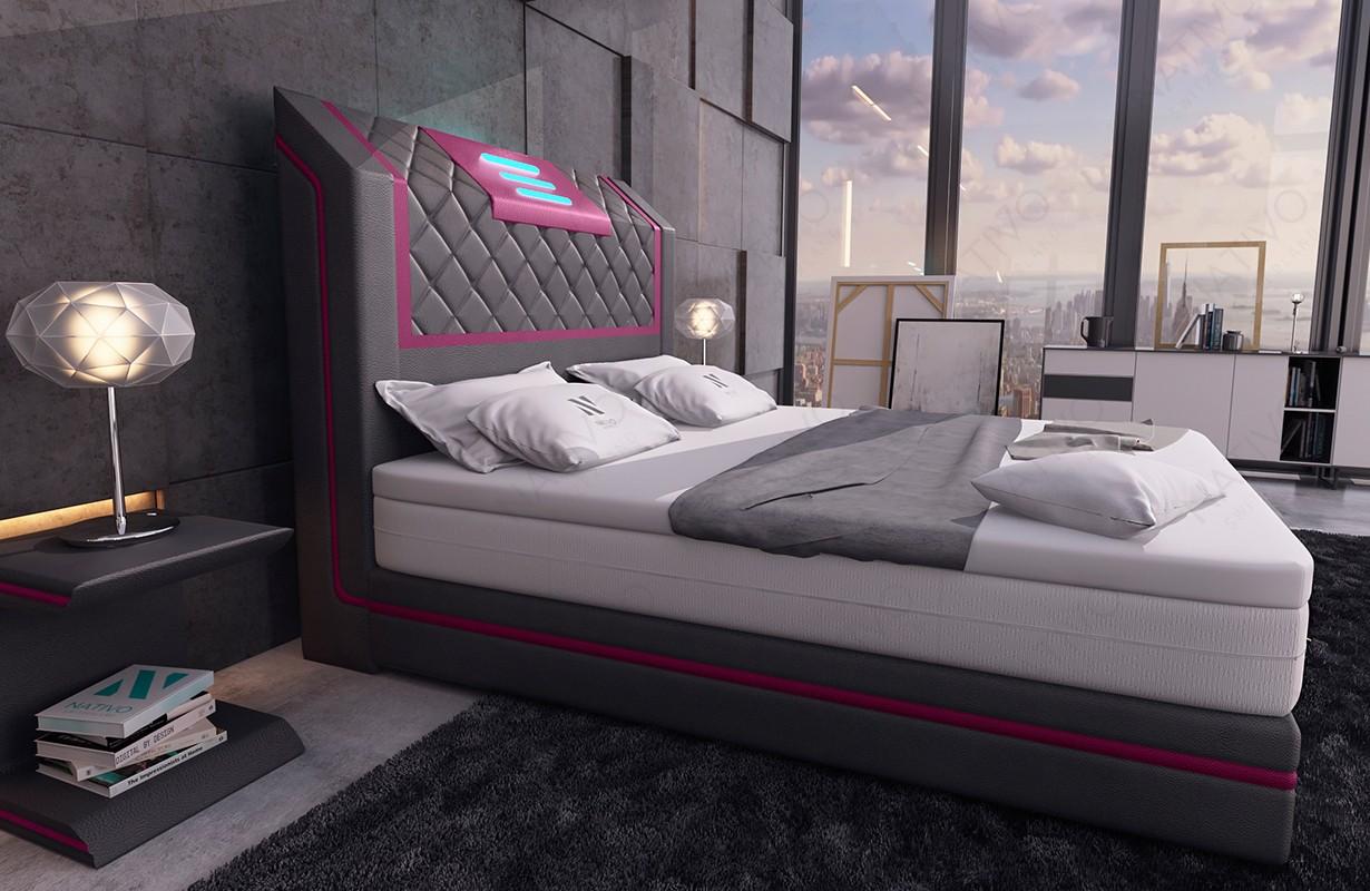 Canapé Design CAREZZA XL avec éclairage LED NATIVO mobilier France