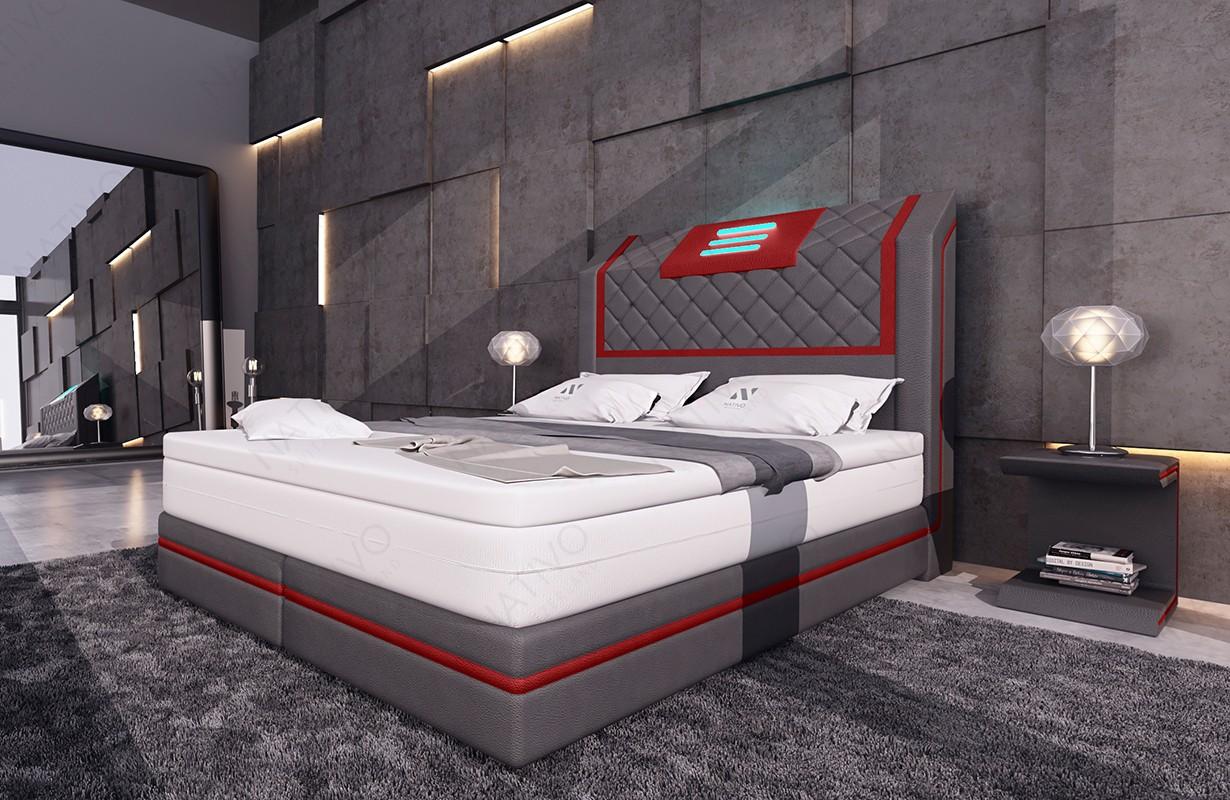 Canapé Design MIRAGE 3+2+1 avec éclairage LED NATIVO mobilier France