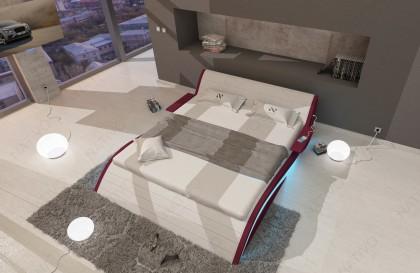 Canapé Design ENZO avec tablettes intégrées