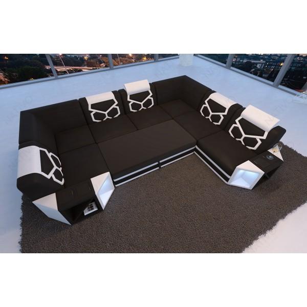 Lit Design IMPERIAL avec éclairage LED NATIVO mobilier France