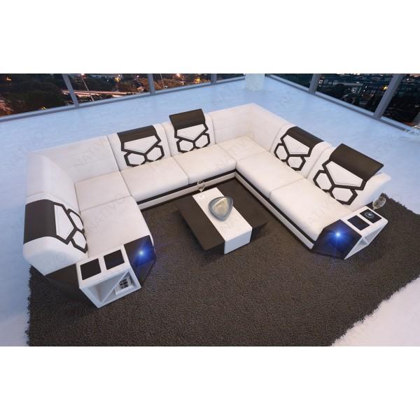 Canapé Design Profond VICE avec éclairage LED NATIVO mobilier France