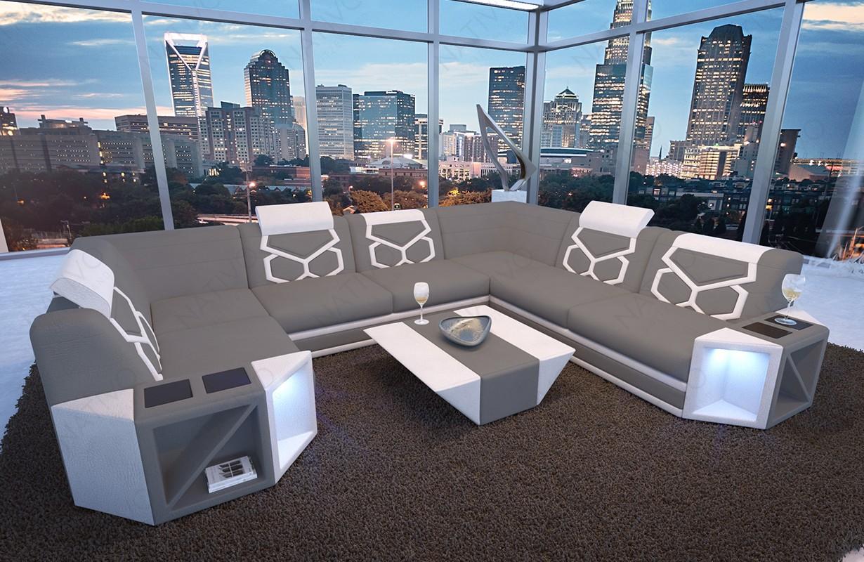 Canapé Design AVENTADOR XL CORNER avec éclairage LED