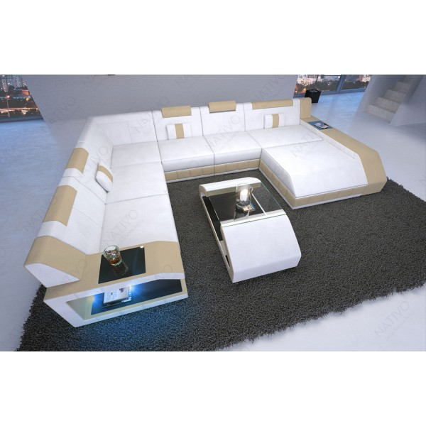 Chaise design ARDO blanc NATIVO™ mobilier France