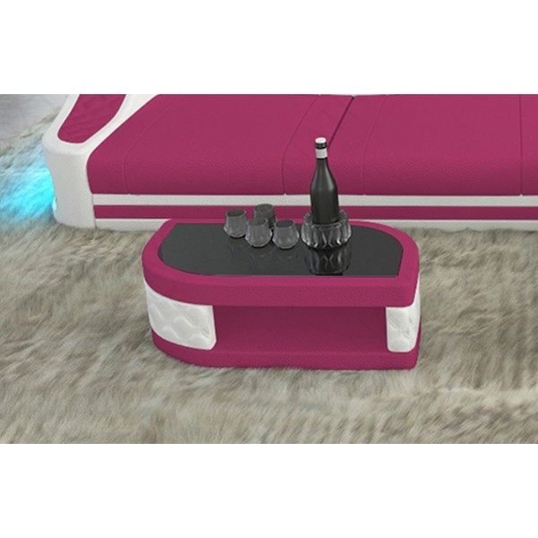 Canapé Design MYSTIQUE MINI avec éclairage LED et port USB NATIVO™ mobilier France