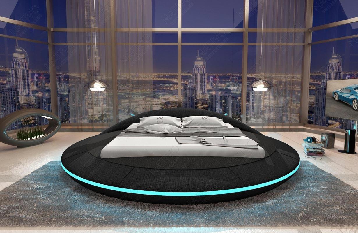 Lit Design MARS avec éclairage LED et port USB