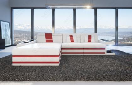 EN STOCK: Table basse Design MYSTIQUE (rouge / noir) NATIVO™ mobilier France