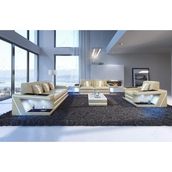 Canapé Lounge ATLANTIS XXL v1 en rotin NATIVO™ mobilier France