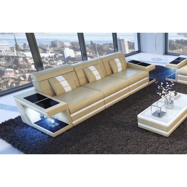 Canapé Lounge ATLANTIS XL v1 en rotin NATIVO™ mobilier France