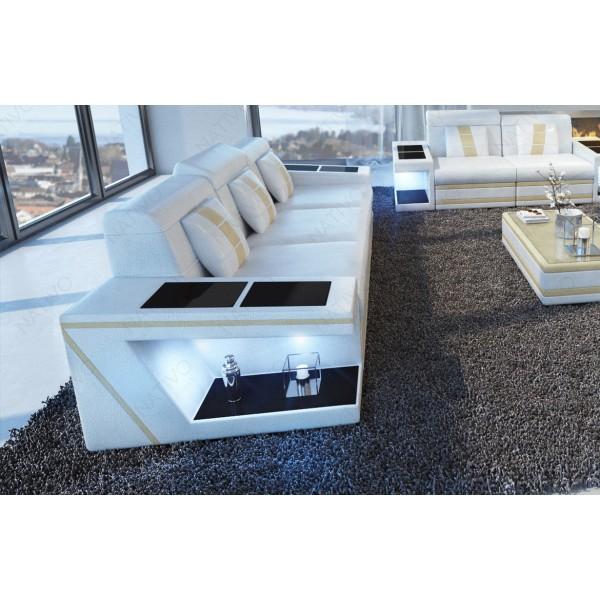 Canapé Lounge ATLANTIS CORNER v1 en rotin