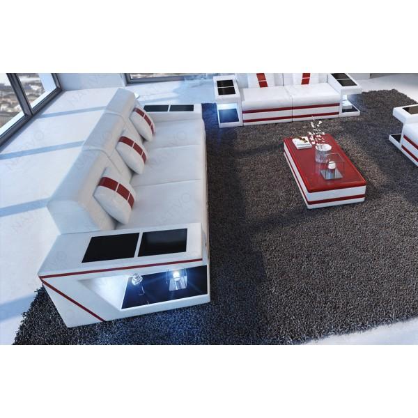 Canapé Lounge ATLANTIS CORNER v1 en rotin NATIVO™ mobilier France