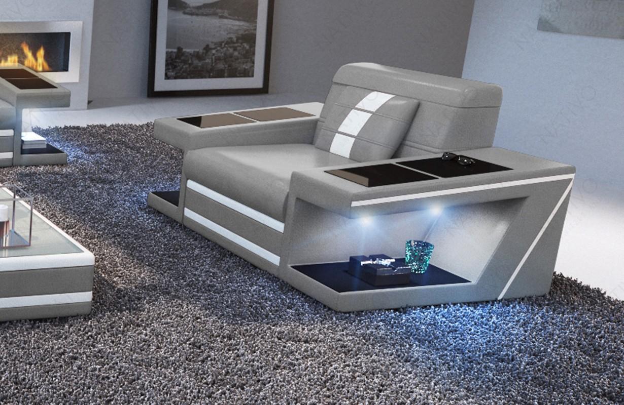 Fauteuil Design CAREZZA avec éclairage LED