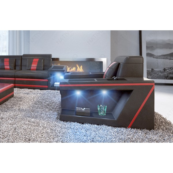 Set Lounge ATLANTIS 2+1+1 v1 en rotin