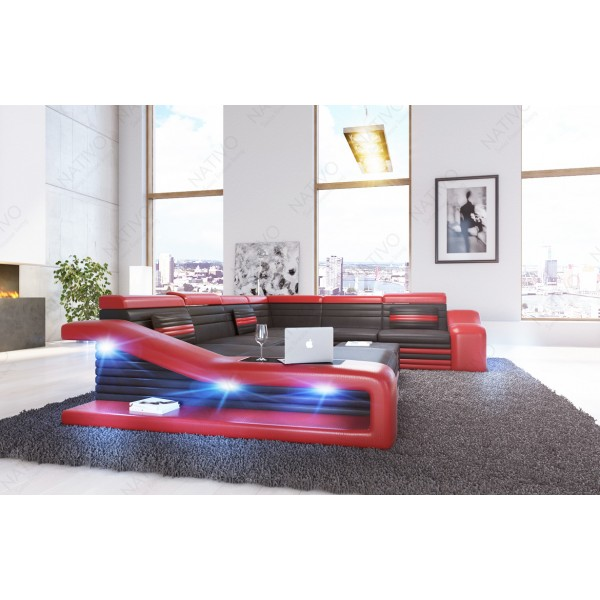Canapé Lounge ATLANTIS v1 3 places en rotin NATIVO™ mobilier France