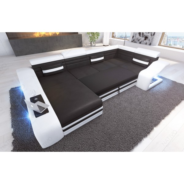 Canapé Lounge ATLANTIS 2 places v1 en rotin NATIVO™ mobilier France