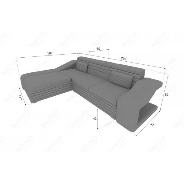 Fauteuil Lounge ATLANTIS v1 en rotin NATIVO™ mobilier France