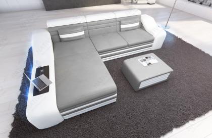 Canapé Lounge ATLANTIS XXL v2 en rotin
