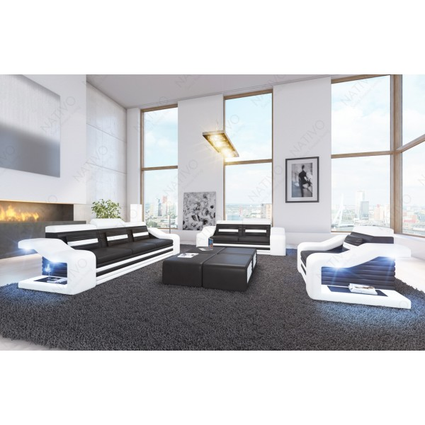Canapé Lounge ATLANTIS XL v2 en rotin NATIVO™ mobilier France
