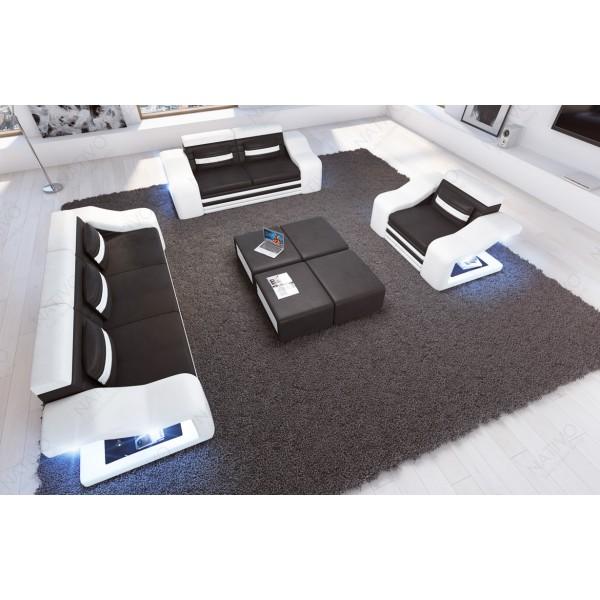 Canapé Lounge ATLANTIS XL v2 en rotin NATIVO™ mobilier France