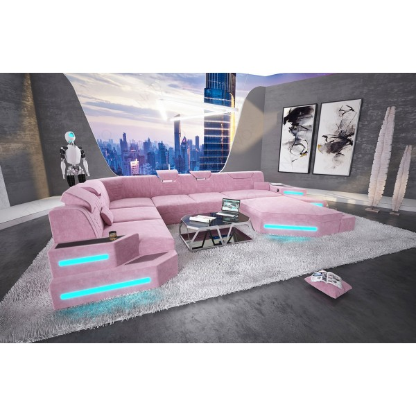 Canapé Design ATLANTIS XL avec éclairage LED