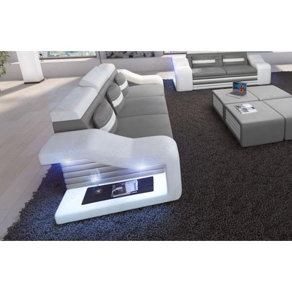 Set Lounge ATLANTIS 2+1+1 v2 en rotin NATIVO™ mobilier France