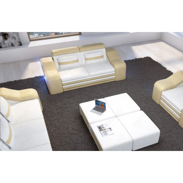 Canapé Lounge ATLANTIS v2 3 places en rotin NATIVO™ mobilier France