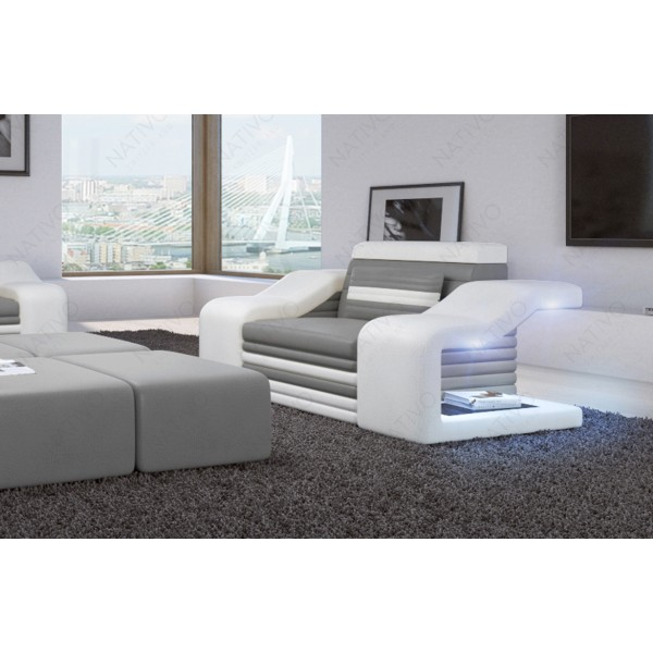 Canapé Lounge ATLANTIS 2 places v2 en rotin NATIVO™ mobilier France