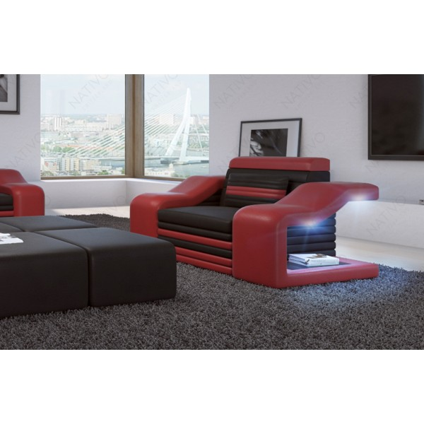 Fauteuil Lounge ATLANTIS v2 en rotin NATIVO™ mobilier France