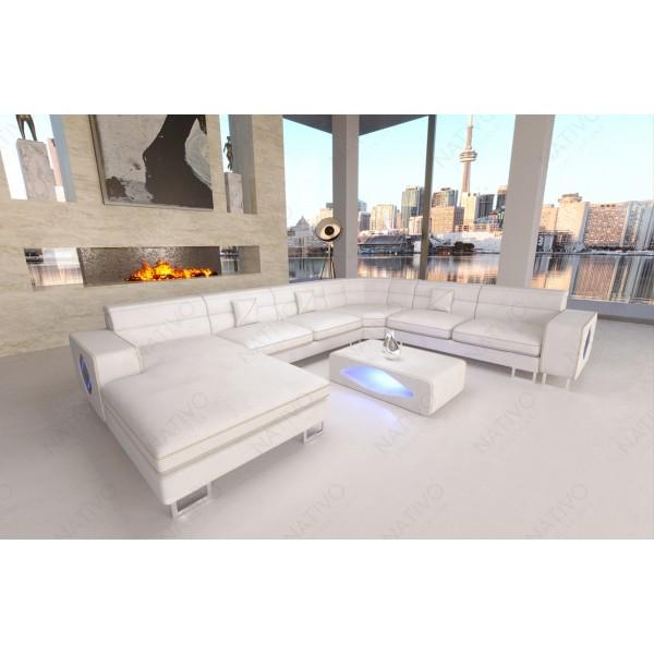 Canapé Lounge ATLANTIS CORNER v2 en rotin NATIVO™ mobilier France
