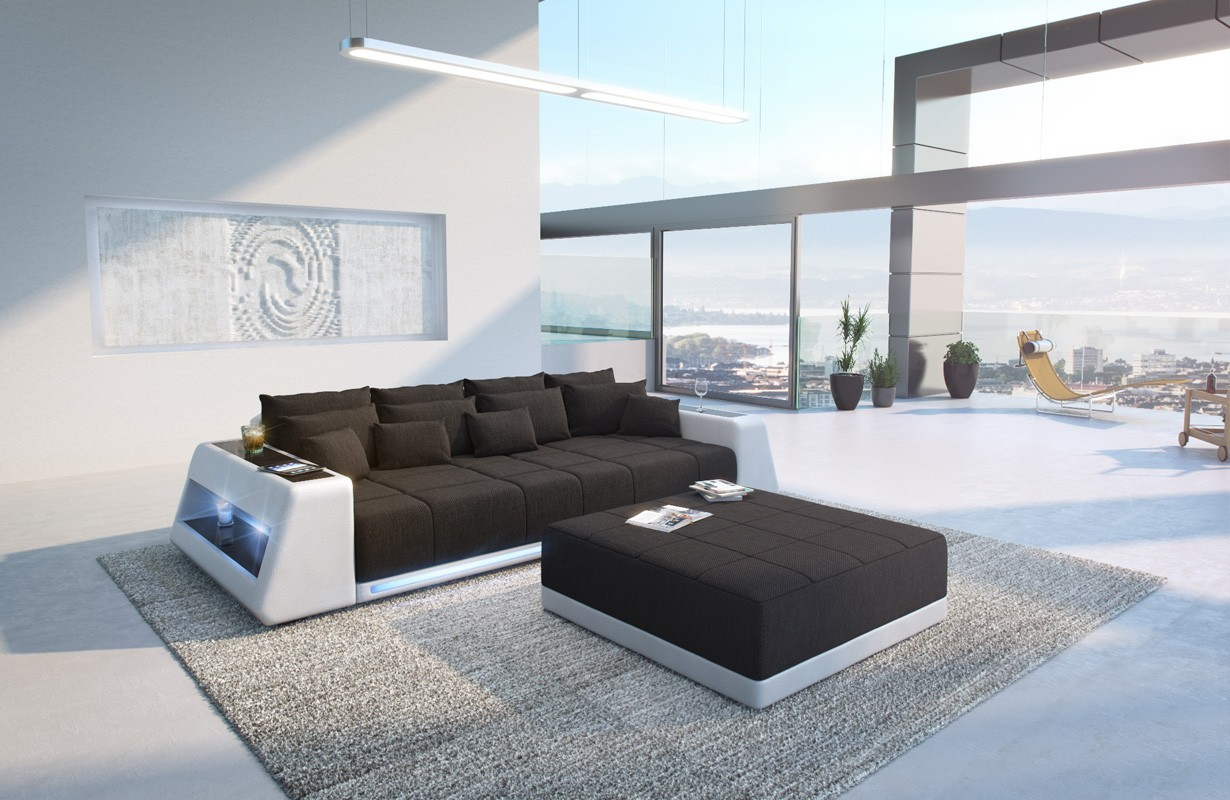 Canapé Design Profond VICE avec éclairage LED