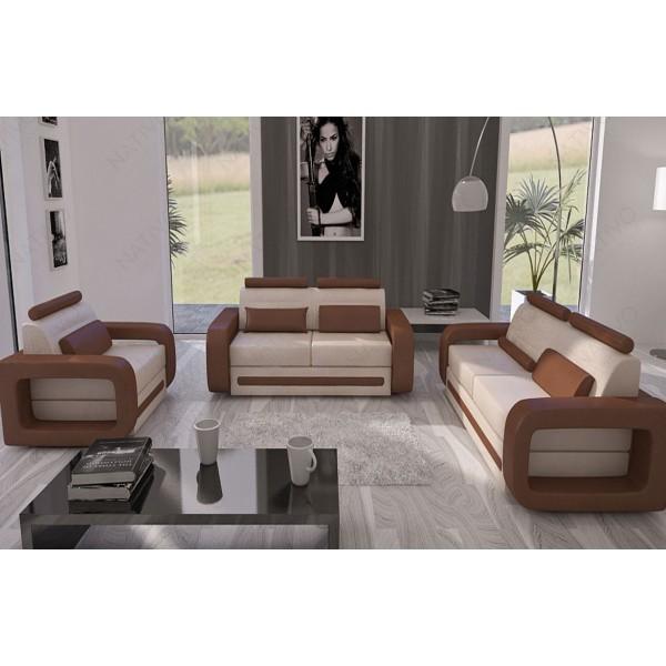 Table Design CAMELOT en bois massif