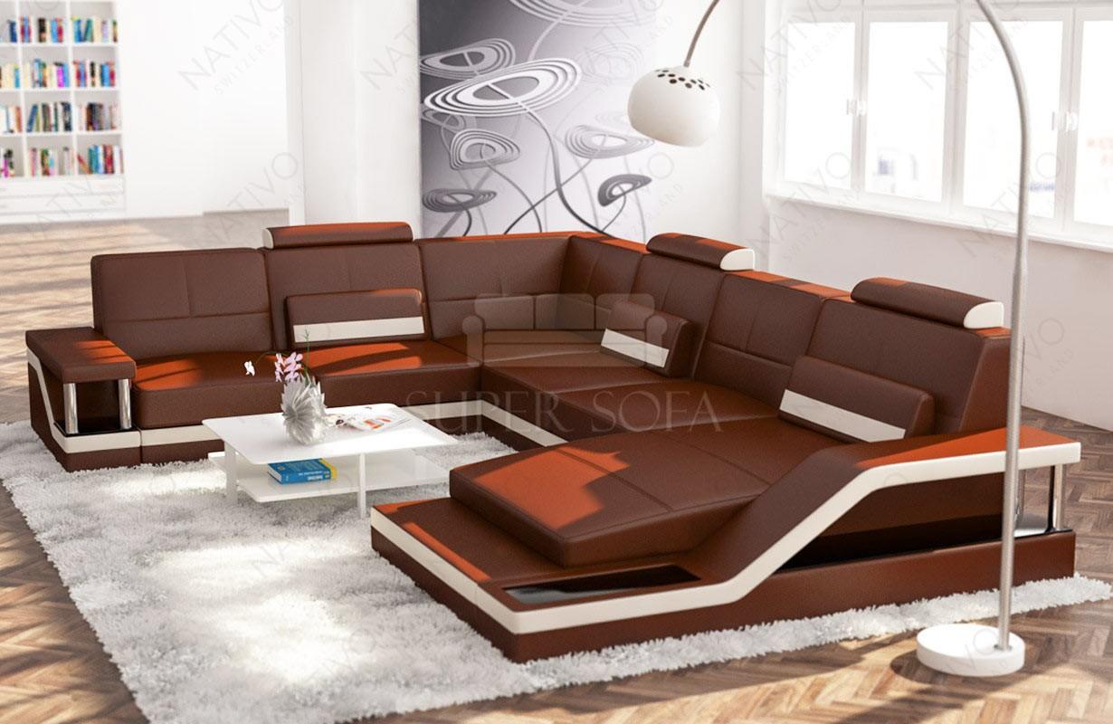 Canapé Design ANGEL MAXI avec éclairage LED