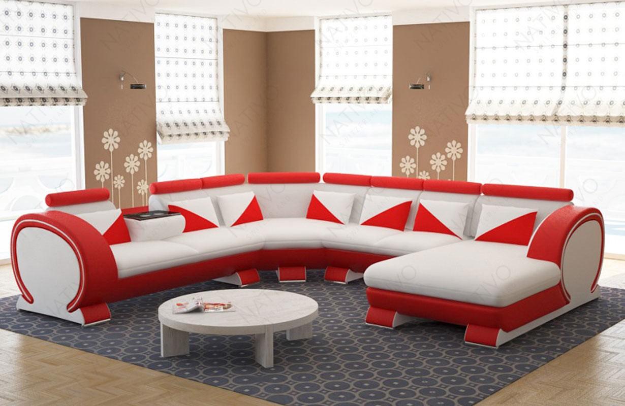 Canapé Design BEACHO MAXI avec porte-boissons
