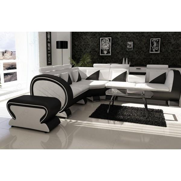 Canapé Lounge MESIA XL v1 en rotin