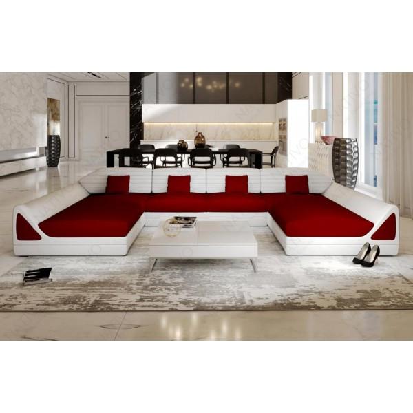 Canapé Lounge MESIA XL v2 en rotin NATIVO™ mobilier France