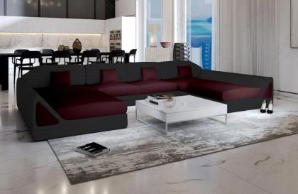 Canapé Lounge MESIA XXL v2 en rotin NATIVO™ mobilier France