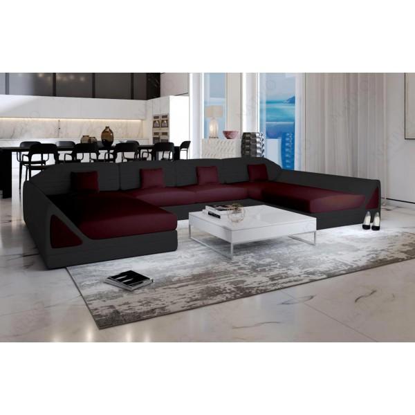 Canapé Lounge MESIA XXL v2 en rotin