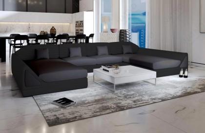 Canapé Lounge MESIA XL v2 en rotin