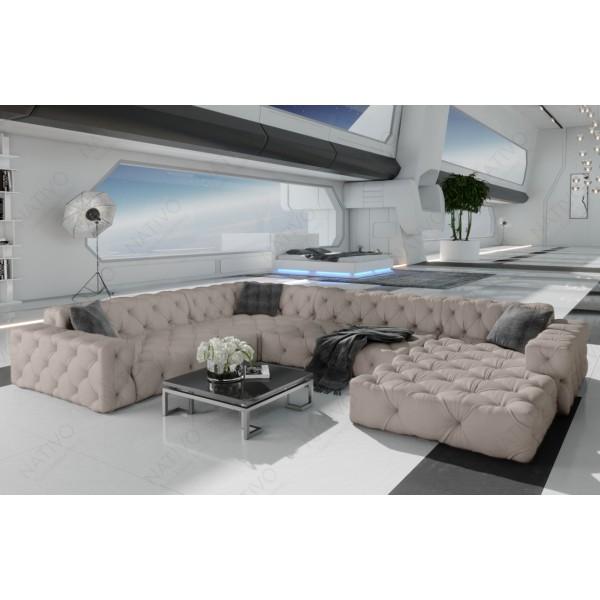 Canapé Lounge MESIA CORNER en rotin